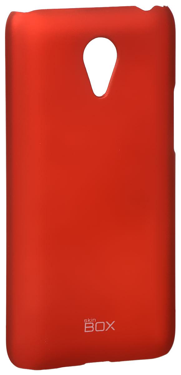 Skinbox 4People чехол для Meizu M1 Note, RedT-S-MM1-002Накладка Skinbox 4People для Meizu M1 Note выполнена из высококачественного поликарбоната. Она бережно и надежно защитит ваш смартфон от пыли, грязи, царапин и других повреждений. Чехол оставляет свободным доступ ко всем разъемам и кнопкам устройства.