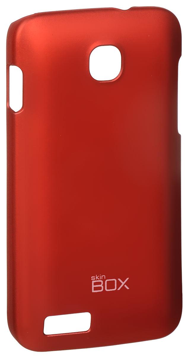 Skinbox 4People чехол для Fly IQ434 Era Nano 5, RedT-S-FIQ434-002Чехол - накладка Skinbox 4People для Fly IQ434 Era Nano 5 бережно и надежно защитит ваш смартфон от пыли, грязи, царапин и других повреждений. Чехол оставляет свободным доступ ко всем разъемам и кнопкам устройства. В комплект также входит защитная пленка на экран.