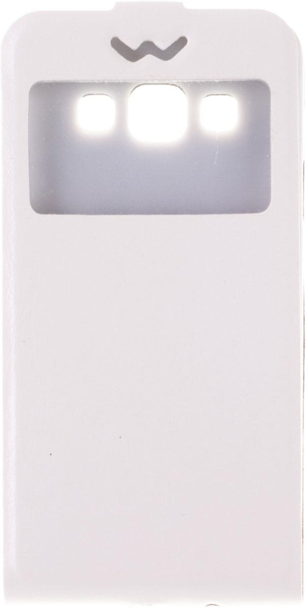 Skinbox Slim AW чехол для Samsung Galaxy A3, WhiteT-F-SGA3-001Чехол Skinbox Slim AW для Samsung Galaxy A3 выполнен из высококачественного поликарбоната и искусственной кожи. Он обеспечивает надежную защиту корпуса и экрана смартфона и надолго сохраняет его привлекательный внешний вид. Чехол также обеспечивает свободный доступ ко всем разъемам и клавишам устройства.