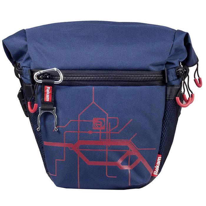 Rekam Pyramid RBX-57, Blue сумка для фотокамеры1401101233Стильная, эргономичная сумка Rekam Pyramid RBX-57 предназначена для зеркальной фотокамеры. Прочный материал, надежные молнии и крепления, обеспечивают максимальную защиту фототехники. Дополнительные отсеки и карманы позволяют разместить выносную фотовспышку и пару аксессуаров.Благодаря отсеку для личных вещей, который при необходимости удобно складывается и не занимает места, сумка отлично подходит для отдыха и путешествий.