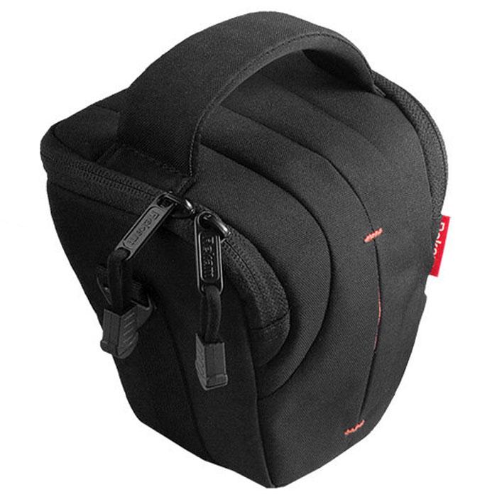Rekam C3 сумка для фотокамеры1401100013В производстве сумки Rekam C3 используются легкие, прочные и приятные на ощупь материалы. Регулируемые, съемные разделители, позволяют надежно расположить технику и защищать ее от механических воздействий. Дополнительные детали обеспечивают особое удобство сумок: это и внутренние карманы под откидной крышкой для карт памяти, элементов питания и небольших аксессуаров, и металлические ушки крепления для плечевого ремня. Также для удобства переноски предусмотрены петля для крепления на пояс и пластиковое укрепление дна. В комплект входит съемный регулируемый плечевой ремень c прорезиненной противоскользящей накладкой.