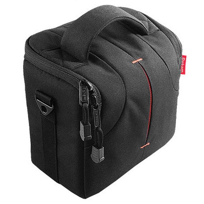 Rekam C300 сумка для фотокамеры1401100023В производстве сумки Rekam C300 используются легкие, прочные и приятные на ощупь материалы. Регулируемые, съемные разделители, позволяют надежно расположить технику и защищать ее от механических воздействий. Дополнительные детали обеспечивают особое удобство сумок: это и внутренние карманы под откидной крышкой для карт памяти, элементов питания и небольших аксессуаров, и металлические ушки крепления для плечевого ремня. Также предусмотрена петля для крепления на пояс и пластиковое укрепление дна для удобства транспортировки и защиты камеры от повреждений. В комплект также входит съемный регулируемый плечевой ремень c прорезиненной противоскользящей накладкой.