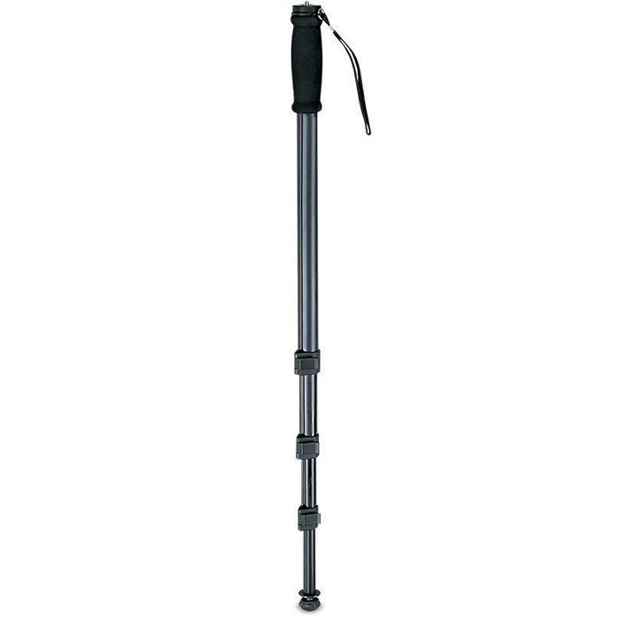 Rekam RM-120 штатив1214000100Rekam RM-120, как и штативы, применяется для стабилизации фотокамеры при фотосъемке. Основная особенность, отличающая монопод от штатива – наличие одной опорной ноги. Монопод не избавляет фотоаппарат от шевеленки полностью, тем не менее, позволяет поставить выдержку на один-два стопа большую, нежели при съемке с рук. Главное преимущество монопода – мобильность; фотограф со штативом фактически привязан к одной точке (сворачивание-установка штатива занимает около минуты), в то время как с моноподом он может двигаться, отыскивая подходящие ракурсы. Rekam RM-120 имеет удобный и жесткий фиксатор для изменения высоты ноги, а также легкую и прочную сумку-чехол, для переноса и защиты от механических повреждений. Очень удобно использовать монопод для репортажной съемки. В этом случае он просто незаменим, так как при большом скоплении людей, просто нет возможности установить штатив. Тип головы: без головы Сечение ноги: круглое Мягкие муфты Наконечники...