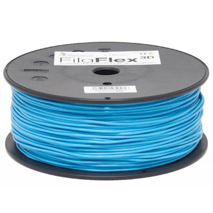 BQ Filaflex пластик в катушке, 1,75 мм, BlueF000085Пластик BQ Filaflex это эластичный термопластик для использования в 3D принтерах, стойкий к моющим средствам и щелочам. Один из лучших материалов для печати на 3D принтере, он не теряет форму при растяжении и имеет высокую прочность на разрыв. Материал абсолютно без запаха и не является токсичным. Температура плавления 215-250°C. Пластик BQ Filaflex применяется для создания гибких, эластичных 3D моделей, таких как ремешки часов, обувь, предметы одежды и аксессуары, а также как часть более сложных 3D моделей в комбинации с обычным PLA пластиком. Одной катушки BQ Filaflex хватит на десятки изделий. Диаметр пластиковой нити: 1,75 мм Предел прочности: 39 МПа