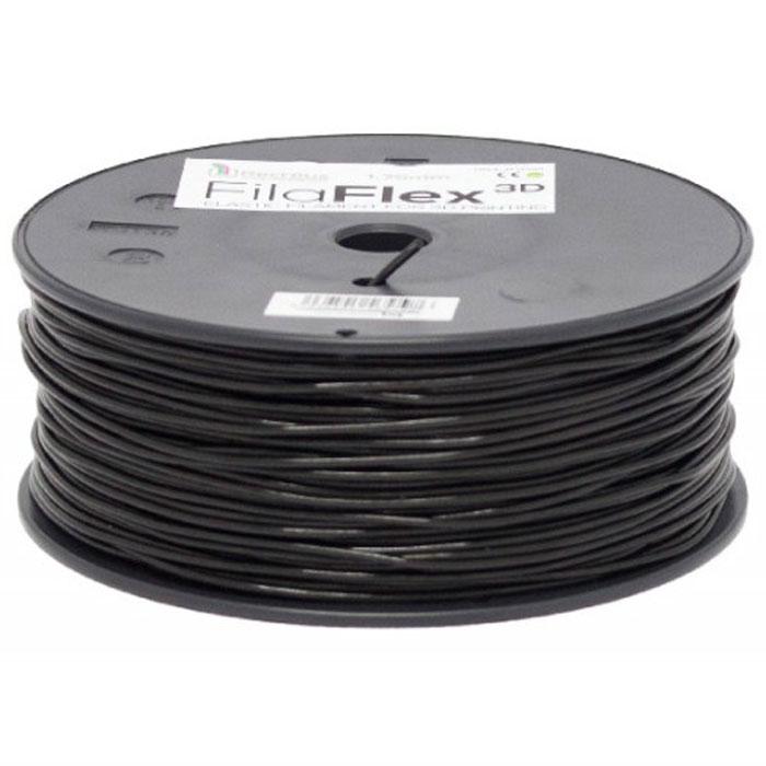 BQ Filaflex пластик в катушке, 1,75 мм, BlackF000084Пластик BQ Filaflex это эластичный термопластик для использования в 3D принтерах, стойкий к моющим средствам и щелочам. Один из лучших материалов для печати на 3D принтере, он не теряет форму при растяжении и имеет высокую прочность на разрыв. Материал абсолютно без запаха и не является токсичным. Температура плавления 215-250°C. Пластик BQ Filaflex применяется для создания гибких, эластичных 3D моделей, таких как ремешки часов, обувь, предметы одежды и аксессуары, а также как часть более сложных 3D моделей в комбинации с обычным PLA пластиком. Одной катушки BQ Filaflex хватит на десятки изделий. Диаметр пластиковой нити: 1,75 мм Предел прочности: 39 МПа