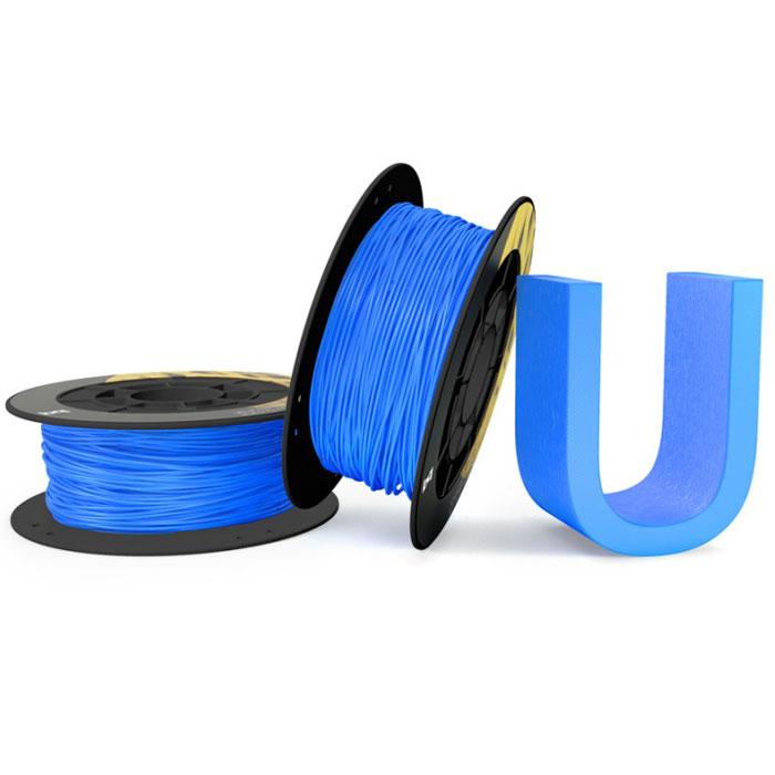 BQ пластик PLA в катушке, 1,75 мм, Sky blue05BQFIL025Компания BQ разработала полностью безопасные как для человека, так и для природы, материалы для 3D принтеров на основе биоразлагаемого PLA полимера и натуральных красителей. PLA пластик изготовлен из кукурузы и при его производстве не используются производные нефти. BQ PLA -пластик обладает высоким уровнем физико-механических и эксплуатационных свойств, достаточных для решения большинства задач 3D печати. Отличительной особенностью также является широкая цветовая палитра. Главными преимуществами материала являются: Быстрое застывание Минимальный термальный стресс Минимальная деформация Оптимальная температура печати 220°C Температура плавления 180°C - 220°C Диаметр пластиковой нити: 1,75 мм