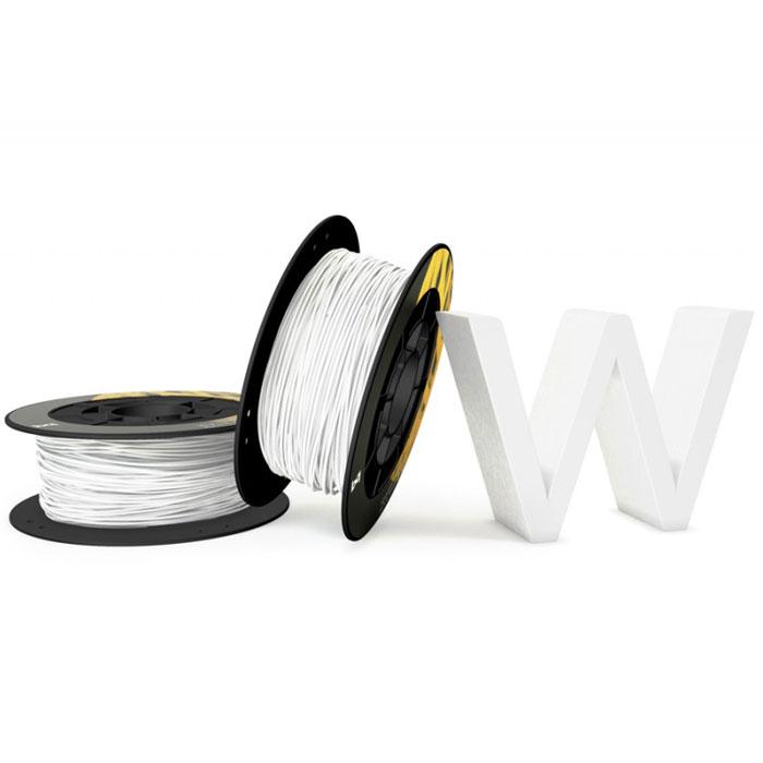 BQ пластик PLA в катушке, 1,75 мм, Pure White05BQFIL027Компания BQ разработала полностью безопасные как для человека, так и для природы, материалы для 3D принтеров на основе биоразлагаемого PLA полимера и натуральных красителей. PLA пластик изготовлен из кукурузы и при его производстве не используются производные нефти. BQ PLA -пластик обладает высоким уровнем физико-механических и эксплуатационных свойств, достаточных для решения большинства задач 3D печати. Отличительной особенностью также является широкая цветовая палитра. Главными преимуществами материала являются: Быстрое застывание Минимальный термальный стресс Минимальная деформация Оптимальная температура печати 220°C Температура плавления 180°C - 220°C Диаметр пластиковой нити: 1,75 мм