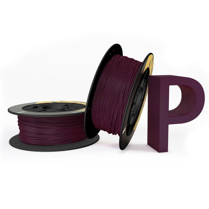 BQ пластик PLA в катушке, 1,75 мм, Aubergine05BQFIL023Компания BQ разработала полностью безопасные как для человека, так и для природы, материалы для 3D принтеров на основе биоразлагаемого PLA полимера и натуральных красителей. PLA пластик изготовлен из кукурузы и при его производстве не используются производные нефти. BQ PLA -пластик обладает высоким уровнем физико-механических и эксплуатационных свойств, достаточных для решения большинства задач 3D печати. Отличительной особенностью также является широкая цветовая палитра. Главными преимуществами материала являются: Быстрое застывание Минимальный термальный стресс Минимальная деформация Оптимальная температура печати 220°C Температура плавления 180°C - 220°C Диаметр пластиковой нити: 1,75 мм