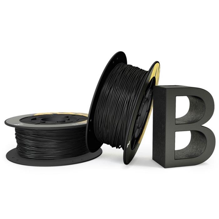 BQ пластик PLA в катушке, 1,75 мм, Coal Black05BQFIL026Компания BQ разработала полностью безопасные как для человека, так и для природы, материалы для 3D принтеров на основе биоразлагаемого PLA полимера и натуральных красителей. PLA пластик изготовлен из кукурузы и при его производстве не используются производные нефти. BQ PLA -пластик обладает высоким уровнем физико-механических и эксплуатационных свойств, достаточных для решения большинства задач 3D печати. Отличительной особенностью также является широкая цветовая палитра. Главными преимуществами материала являются: Быстрое застывание Минимальный термальный стресс Минимальная деформация Оптимальная температура печати 220°C Температура плавления 180°C - 220°C Диаметр пластиковой нити: 1,75 мм