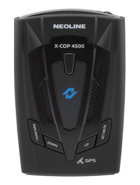 Neoline X-COP 4500 GPS, Black радар-детектор