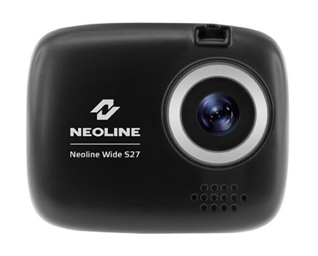 Neoline Wide S27, Black видеорегистраторWide S27NEOLINE WIDE S27. Компактный и доступный по цене автомобильный видеорегистратор Neoline Wide S27 с 1,5-дюймовым LCD-дисплеем и возможностью записи видео в высоком качестве Full HD 1920x1080 со скоростью 30 кадров в секунду обеспечит вашу безопасность на дорогах. Легкий ультракомпактный корпус. Видеорегистратор NEOLINE Wide S27 идеальное решение для водителей-новичков. Гаджет имеет не только оптимальный набор функций, привлекательную цену, но и ультракомпактный корпус. Установив Neolien Wide S27 за зеркалом заднего вида, водитель-новичок не будет отвлекаться во время движения на лишние раздражители, при этом процесс установки и снятия устройства весьма легкий и комфортный. Видео высокой четкости Full HD. Все компоненты NEOLINE Wide S27 тщательно подобраны друг к другу и протестированы на совместимость что в итоге обеспечивает запись видео высокой четкости Full HD при 30 кадрах в секунду и отличную детализацию, в любое время суток. NEOLINE Wide S27 снимает до 15...