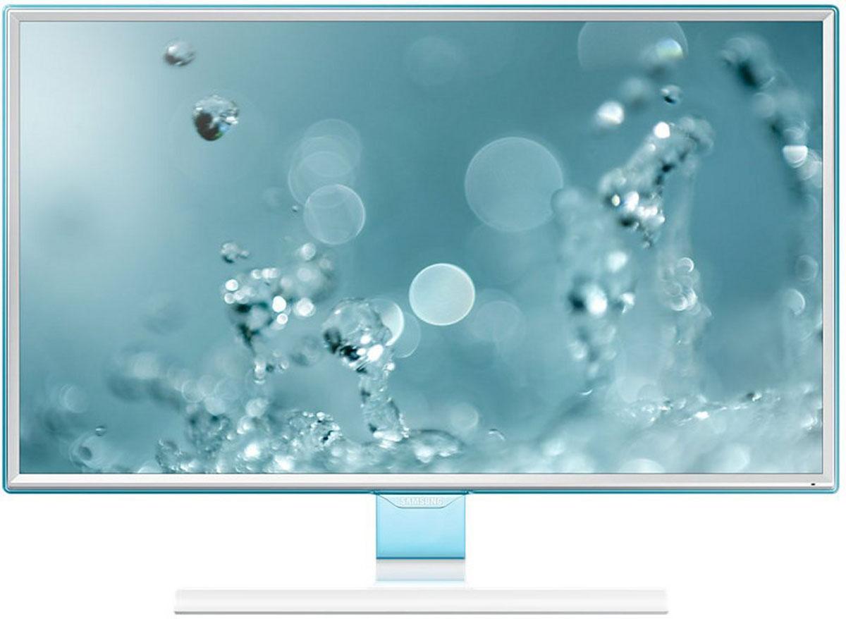 Samsung S27E391H мониторLS27E391HSX/CIВ мониторе Samsung S27E391H обновлен дизайн рамки и подчеркнут полупрозрачным голубым оттенком Touch of Color. Супертонкая рамка с четырех сторон дисплея обеспечивают чистый и современный внешний вид и естественным образом фокусируют взгляд на изображении. Дизайн Touch of Color переходит так же на подставку, что обеспечивает гармоничный и целостный общий дизайн монитора . Используемая матрица обеспечивает широкие углы обзора (178°/178°) по горизонтали и по вертикали для удобства работы, а разрешение Full HD составляет 1920 x 1080, что обеспечивает качественную картинку. Голубое свечение при длительном воздействии отрицательно влияет на зрение. Режим Eye Saver Mode понижает нагрузку на глаза во время работы за монитором путем снижения интенсивности голубого свечения. Технология Flicker Free обеспечивает защиту глаз от постоянного напряжения, вызванного мерцанием и позволяет дольше работать. Эко-энергосберегающая технология снижает яркость экрана для повышения...