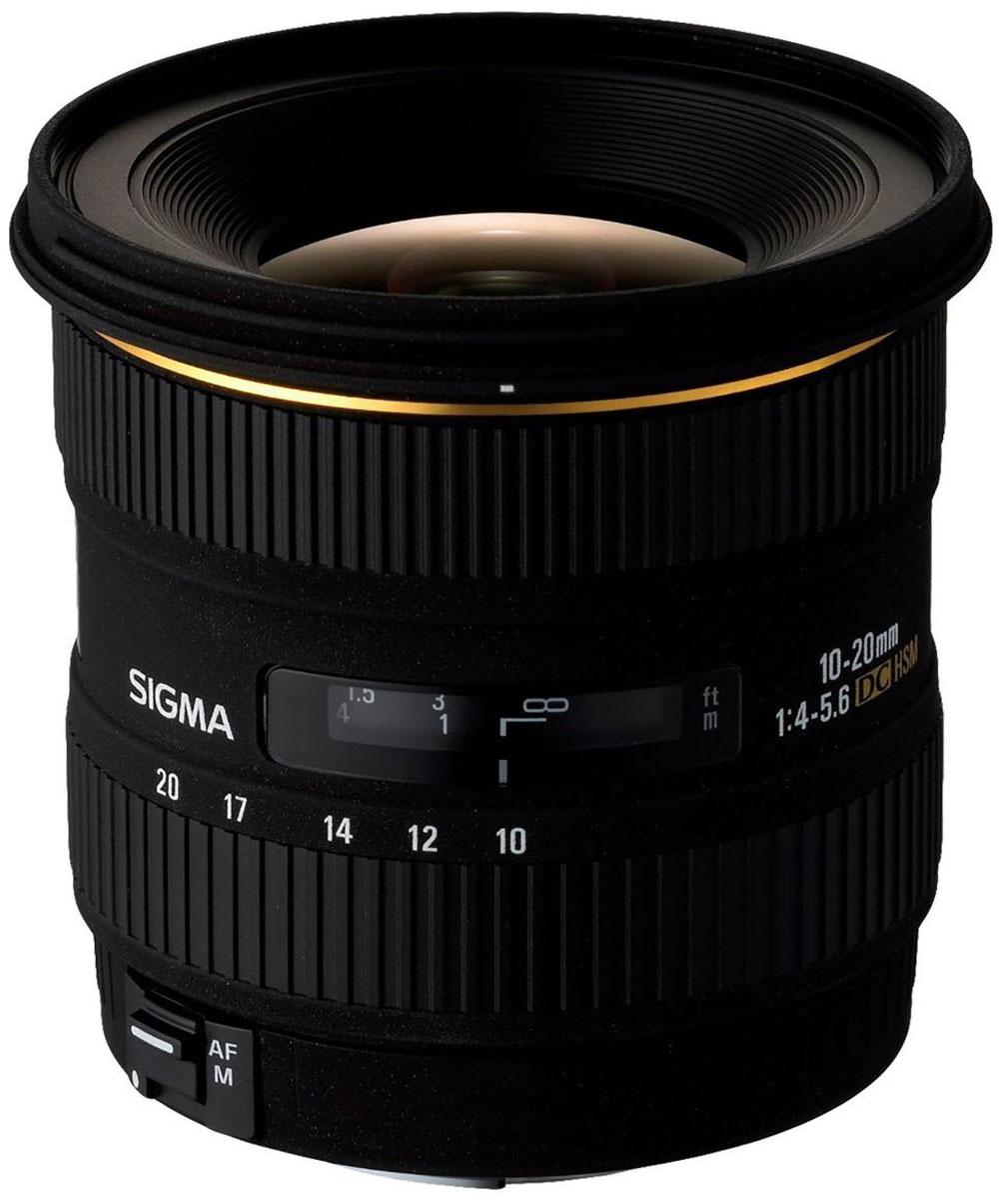 Sigma AF 10-20mm F/3.5 EX DC HSM, Black объектив для Canon