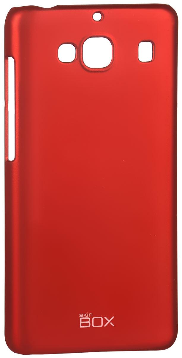 Skinbox 4People чехол для Xiaomi Redmi 2, RedT-S-XR2-002Накладка Skinbox 4People для Xiaomi Redmi 2 выполнена из высококачественного поликарбоната. Она бережно и надежно защитит ваш смартфон от пыли, грязи, царапин и других повреждений. Чехол оставляет свободным доступ ко всем разъемам и кнопкам устройства.