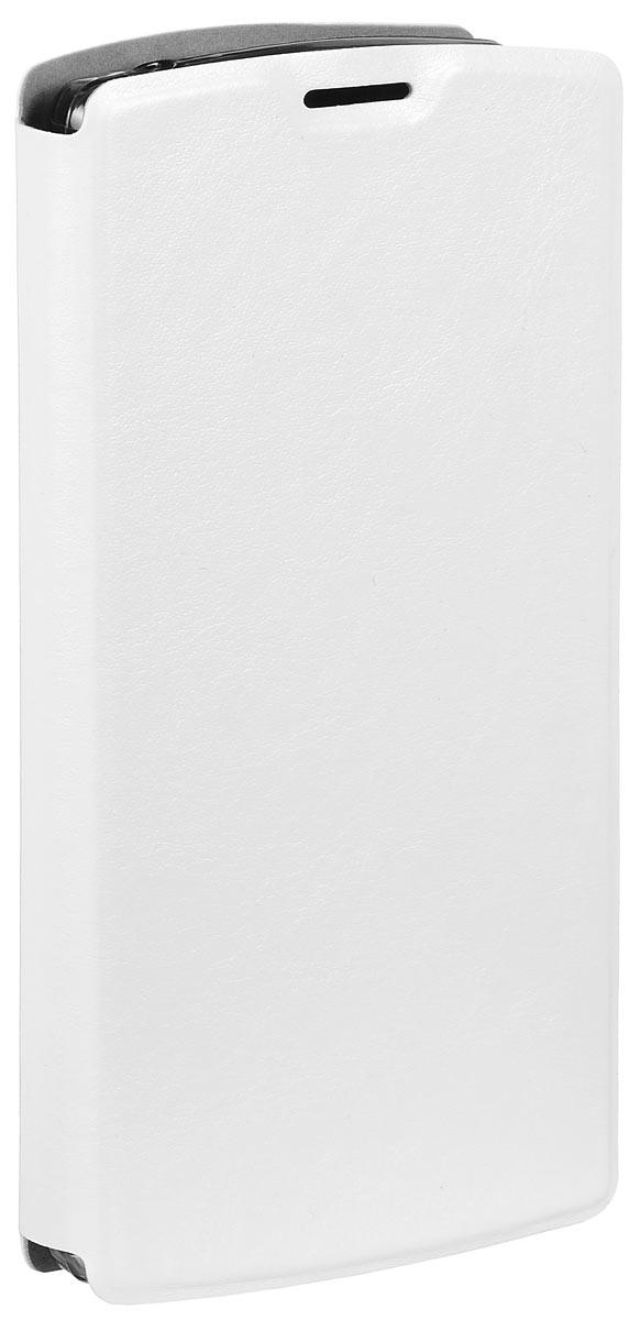 Skinbox Lux чехол для LG G4C, WhiteT-S-LG4C-003Чехол Skinbox Lux для LG G4C выполнен из высококачественного поликарбоната и экокожи. Он обеспечивает надежную защиту корпуса и экрана смартфона и надолго сохраняет его привлекательный внешний вид. Чехол также обеспечивает свободный доступ ко всем разъемам и клавишам устройства.
