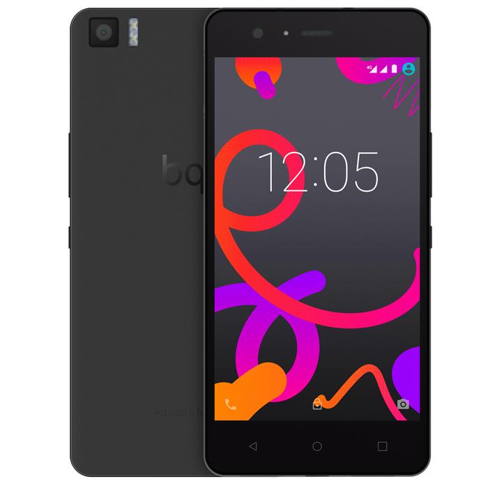 BQ Aquaris M5.5 16+3GB, BlackC000080Производительный смартфон BQ Aquaris M5.5 оснащен 8-ядерным процессором Qualcomm Snapdragon 615 с частотой 1.5 ГГц. Он работает под управлением Android 5.1 Lollipop и поддерживает высокоскоростной стандарт сотовой связи 4G. Два слота для micro-SIM карт позволяют пользоваться услугами двух разных операторов мобильной связи. Отклик на нажатие был улучшен благодаря сенсору Atmel maXTouch, который увеличивает чувствительность экрана и позволяет без каких-либо помех пользоваться телефоном в перчатках или во влажных условиях. Также этот сенсор может распознавать до 10 одновременных точек нажатия. Использование технологии Quantum Color + позволило достигнуть отличных показателей цветового спектра (почти 90% NTSC). Сам экран покрыт трехслойным покрытием GFF (Glass-Film-Film) с защитным слоем Dragontrail. Фронтальная камера 5 Мпикс с углом обзора 85° и вспышкой позволяет снимать отличные селфи. Основная камера разрешением 13 Мпикс имеет диафрагму f/2.0 и...