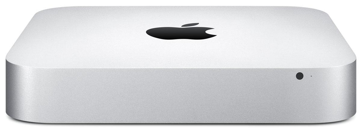 Apple Mac mini (MGEN2RU/A)MGEN2RU/AApple Mac mini - компактный настольный компьютер, в квадратном корпусе которого спрятаны полноценные возможности компьютера Mac. Просто подключите к нему монитор, клавиатуру и мышь - и вы готовы к великим свершениям. Mac mini оснащаются процессорами Intel Core четвёртого поколения и могут посоревноваться с компьютерами вдвое большего размера. Вы можете остановиться на двухъядерном процессоре Intel Core i5 с тактовой частотой 1,4 ГГц, 2,6 ГГц или 2,8 ГГц. Или выбрать ещё более мощный двухъядерный процессор Intel Core i7 с тактовой частотой 3,0 ГГц. Разрешение, обеспечиваемое графическими процессорами Intel Iris Graphics и Intel HD Graphics 5000, до 90% выше по сравнению со встроенным графическим процессором предыдущего поколения. Поэтому при просмотре видео и во время игр изображение на экране более плавное и естественное. Просматривать фотоальбомы стало удивительно просто. И теперь у вас есть все возможности, чтобы превратить снятое вами HD-видео в...