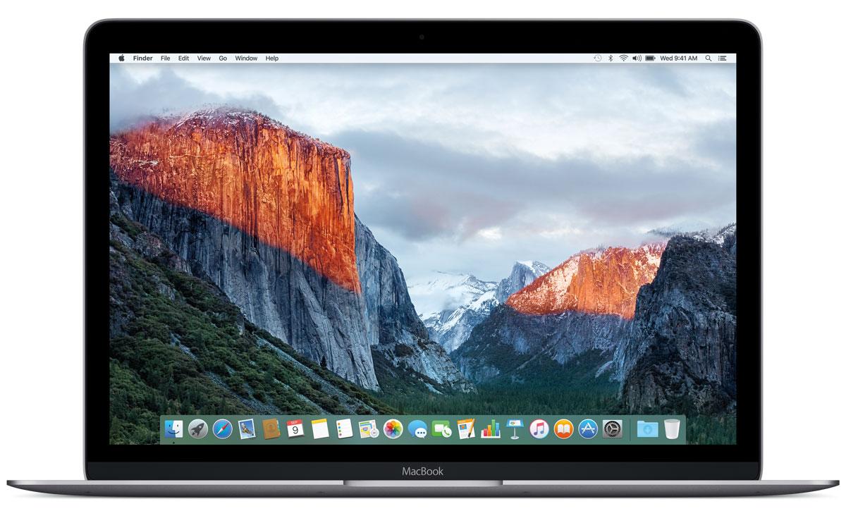 Apple MacBook 12, Space Grey (Z0RN0001T)Z0RN0001TApple MacBook 12 - стильный и инновационный ноутбук будущего. Это легкий и ультратонкий мобильный компьютер с длительным сроком автономной работы и цельным дизайном. Клавиатура обновлена от А до Я. Каждый компонент клавиатуры был спроектирован специально для нового MacBook: основной механизм, форма изгиба клавиш и даже новый уникальный шрифт. В результате клавиатура стала гораздо тоньше, чем все предыдущие. Теперь, когда вы нажимаете на клавишу, она чётко опускается и поднимается без малейших задержек - и ваш текст набирается быстрее и точнее. Новый механизм бабочка представляет собой цельный элемент, изготовленный из более жёстких материалов, с большей площадью опоры. Благодаря этому клавиши стали более устойчивыми, точнее реагируют на нажатия и при этом занимают меньше места по высоте. Эта инновационная технология обеспечивает более чёткую и стабильную работу вне зависимости от того, на какую часть клавиши вы нажимаете. Для нового...