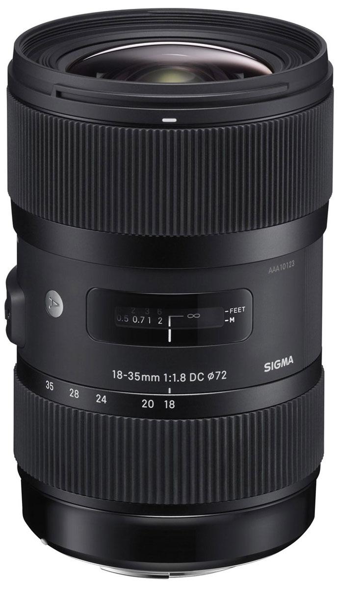Sigma AF 18-35mm F1.8 DC HSM объектив для Nikon210955Sigma AF 18-35mm F1.8 DC HSM заслужено можно назвать объективом нового поколения, так как диафрагма F1.8 остается неизменной на всем диапазоне зумирования. Без сомнения, для хорошего объектива важна такая характеристика как размер светового отверстия. Одновременно с этим, универсальность, а также широкий диапазон фокусных расстояний и компактный дизайн делают объектив привлекательным вдвойне. Sigma 18-35mm F1.8 DC HSM – это первый зум-объектив, имеющий значение светового отверстия F1.8 на всем диапазоне зумирования. Объектив имеет фокусный диапазон, эквивалентный 27 мм - 52,5 мм для камер формата 35-мм. Все объективы компании Sigma делятся на три линейки: Contemporary, Art и Sport. Серию Art представляют широкоугольные, а также ультраширокоугольные объективы с первоклассными оптическими характеристиками, позволяющими добиваться ярко выраженного художественного эффекта на снимках. Данную линию оценят пользователи, ориентированные на творческий...