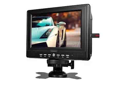 Rolsen RCL-700Z, Black портативный телевизор ( 1-RLCA-RCL-700Z )
