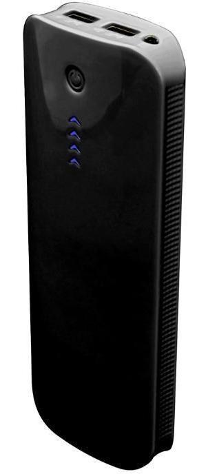 IconBit FTB13200FX портативный аккумуляторFTB13200FXПортативный аккумулятор емкостью Li-ion 13200мАч, USB1 5V/1A, USB2 5V/2.1A, LED индикатор, LED-фонарик, функция автоматического отключения.