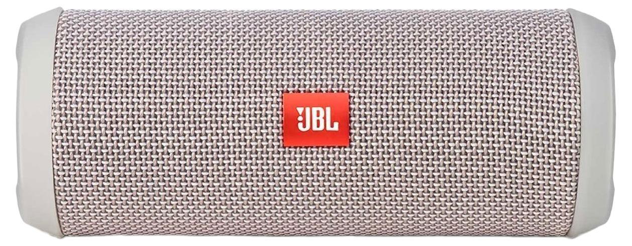 JBL Flip 3, Gray портативная акустическая система6925281904400Портативная акустическая система, 2*5 Вт, Li-ion батарея, 8 часов работы от батареи, встроенный басовый порт, Bluetooth, NFC, прорезиненные торцы и элементы c защитой от брызг, технология шумоподавления Sound clear, улучшенный микрофон и функция ответа на звонки, компатный дизайн, чехол в комплекте, цвет серый