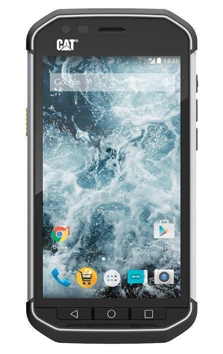 Caterpillar Cat S40, BlackCAT S40Caterpillar, один из крупнейших производителей спецтехники, легко узнаваема по фирменным желтым и черным цветам и трем буквам CAT. Защищенный в рамках отраслевых спецификаций IP67 и MIL-STD-810G смартфон CAT S40 как раз-таки несет крупную трехбуквенную надпись сзади черного корпуса с фирменной боковой желтой кнопкой. Коммуникатор, выпущенный британской Bullit Group, предназначен для тех, кто трудится в условиях с повышенным риском разбить или даже уничтожить мобильное устройство. Вот почему CAT S40 способен выдержать погружение в воду на глубину до одного метра в течение целого часа, его можно уронить с высоты двух метров на бетон, он не пропускает пыль, работает при температурах от -25 до +55 градусов по Цельсию. Снаружи корпус смартфона покрыт резиной, боковины сделаны из алюминия.