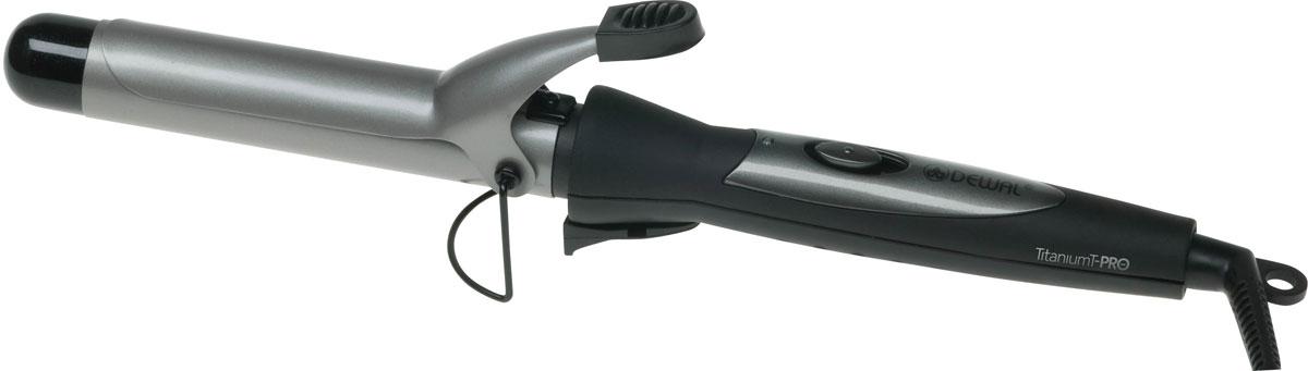 Dewal TitaniumT Pro 03-33А плойка для волос03-33AЩипцы для волос Dewal 03-33А TitaniumT Pro помогут вам создать незабываемый и оригинальный образ. Рабочая часть с турмалиновым покрытием обеспечит отличное скольжение, что сделает процесс укладки волос простым и приятным занятием. Максимальная температура нагрева составляет 190 °С. В данной модели используется покрытие рукоятки Soft Touch, препятствующее скольжению в руке. Титаново-турмалиновое покрытие Покрытие корпуса Soft Touch Термостойкий наконечник Диаметр: 33 мм