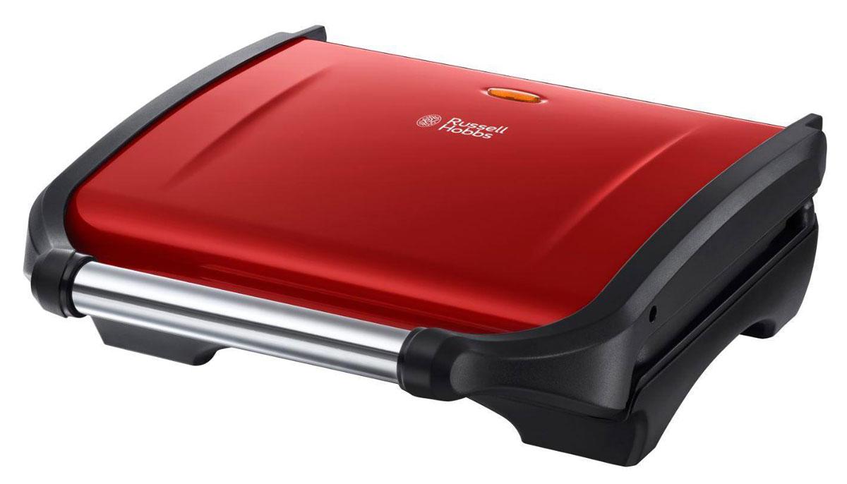 Russell Hobbs 19921-56 Colours, Red электрогриль19921-56Выполненный в пламенном оттенке красного, который прекрасно сочетается с одноименной коллекцией для завтрака, гриль Russell Hobbs 19921-56 Colours прекрасно подходит для приготовления пищи и закусок, быстро и очень просто. Благодаря конструктивным особенностям, гриль помогает вывести до 42% лишнего жира, который стекает в съемный поддон. Его легко снять и очистить. Гриль Russell Hobbs 19921-56 Colours может быть использован для традиционного приготовления, идеален для сэндвитчей и панини. Также его можно установить под наклоном для выведения лишнего жира. Мощность 1600 Вт, одновременный нагрев верхней и нижней панелей - позволяет достичь быстрого времени приготовления. Гриль вмешает до 5 порций продуктов. Это универсальный кухонный помощник для вашего обеда, ужина или просто легкого перекуса!