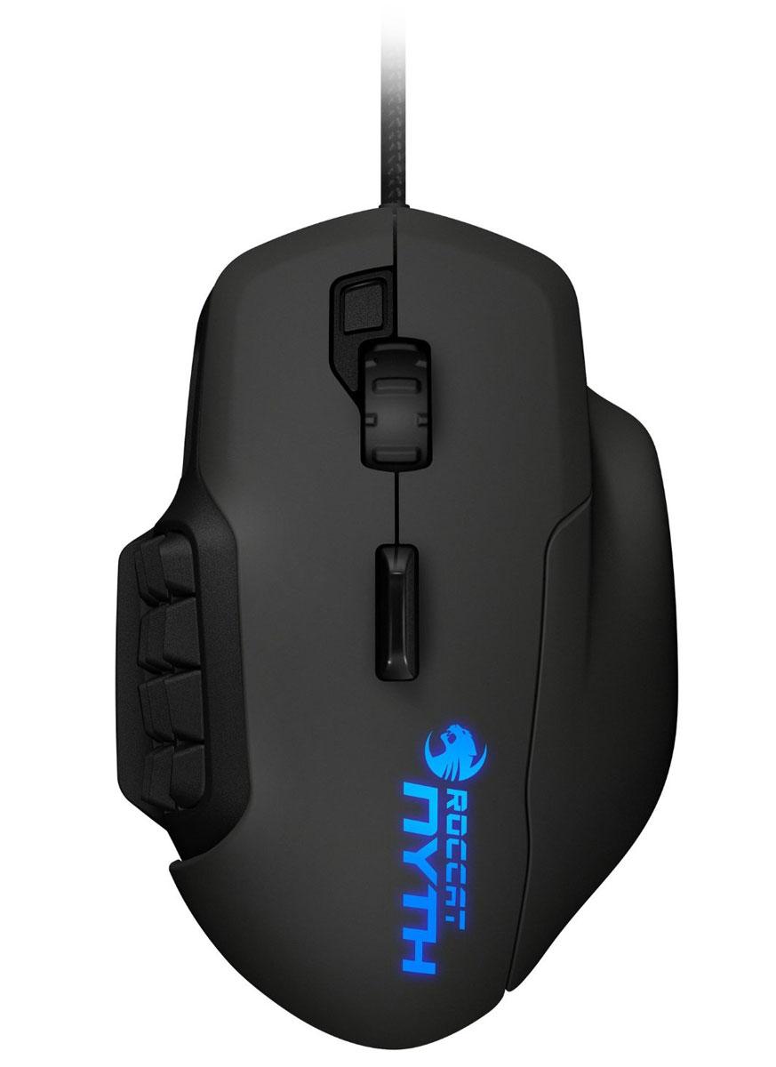 ROCCAT Nyth Modular Gaming Mouse игровая мышьROC-11-900Игровая мышь Roccat Nyth Modular Gaming Mouse сконструирована специально для MMO-игроков, так как имеет целый ряд полностью настраиваемых кнопок. Кроме того, эти клавиши имеют одно уникальное свойство - они легко крепятся и вынимаются из боковой панели мыши. В комплекте с Nyth содержится достаточное количество частей для создания множества различных комбинаций. При разработке данного устройства компания Roccat применила технологию сдвоенных боковых кнопок, что стало определяющим фактором для оптимизации контроля и увеличения уровня комфорта в игре. Клавиши сконструированы с использованием специальной технологии и именно поэтому они отлично нажимаются и чувствуются пальцами. Конструкция и расположение сдвоенных кнопок мыши как в верхней ее части, так и сбоку, отлично проработаны и можно с уверенностью сказать, что удобство пользования этими клавишами будет по достоинству оценено всеми любителями игр в жанре ММО. Подобные парные кнопки можно...