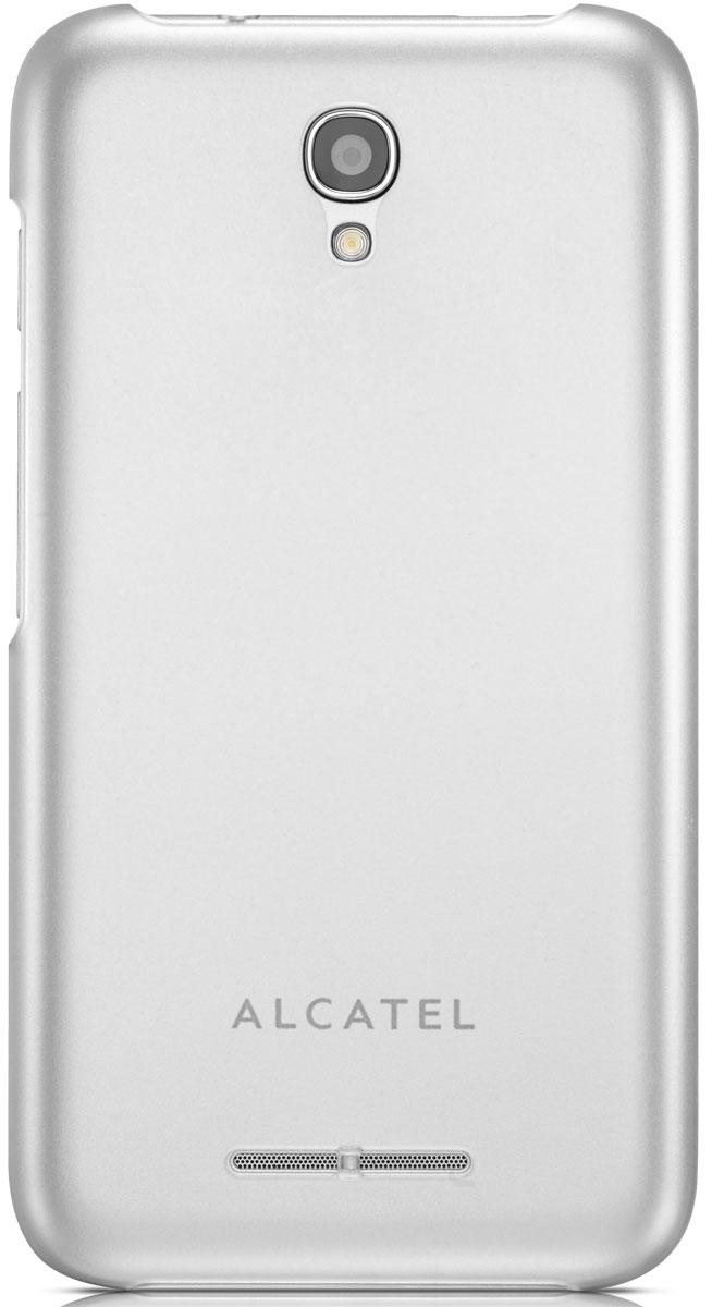 Alcatel чехол для OT-4024D Pixi First, ClearTS4024Чехол - накладка Alcatel TS4024 для OT-4024D Pixi First бережно и надежно защитит ваш смартфон от пыли, грязи, царапин и других повреждений. Чехол оставляет свободным доступ ко всем разъемам и кнопкам устройства.