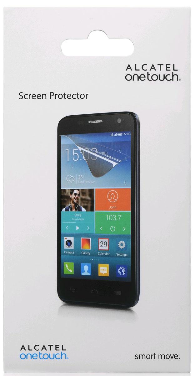 Alcatel защитная пленка для OT-5038D Pop D5 DualSP5038Прозрачная защитная пленка на дисплей Alcatel для OT-5038D Pop D5 Dual предохраняет экран смартфона от царапин, грязи, пыли, пятен и сколов. Пленка легко наклеивается на поверхность экрана без пузырей и складок. При желании ее легко снять - не оставляя следов на смартфоне. Качественный материал гарантирует длительную эксплуатацию и надежную защиту телефона. Комплект в упаковке - 2 штуки.