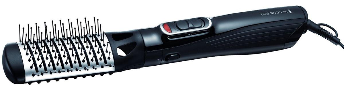 Remington AS1220 стайлерAS1220С помощью воздушного стайлера Remington AS1220 с 5 насадками вы сможете создать множество причесок, будь то кудри, волны, прямые или объемные волосы. Благодаря этим насадкам, вы сможете легко достичь желаемого результата. Прибор оснащен мотором с мощностью 1200 Вт. Три температурных и скоростных настройки помогут выбрать наиболее подходящий режим для вашего типа волос, а холодный обдув закрепит укладку и сделает волосы гладкими и блестящими.