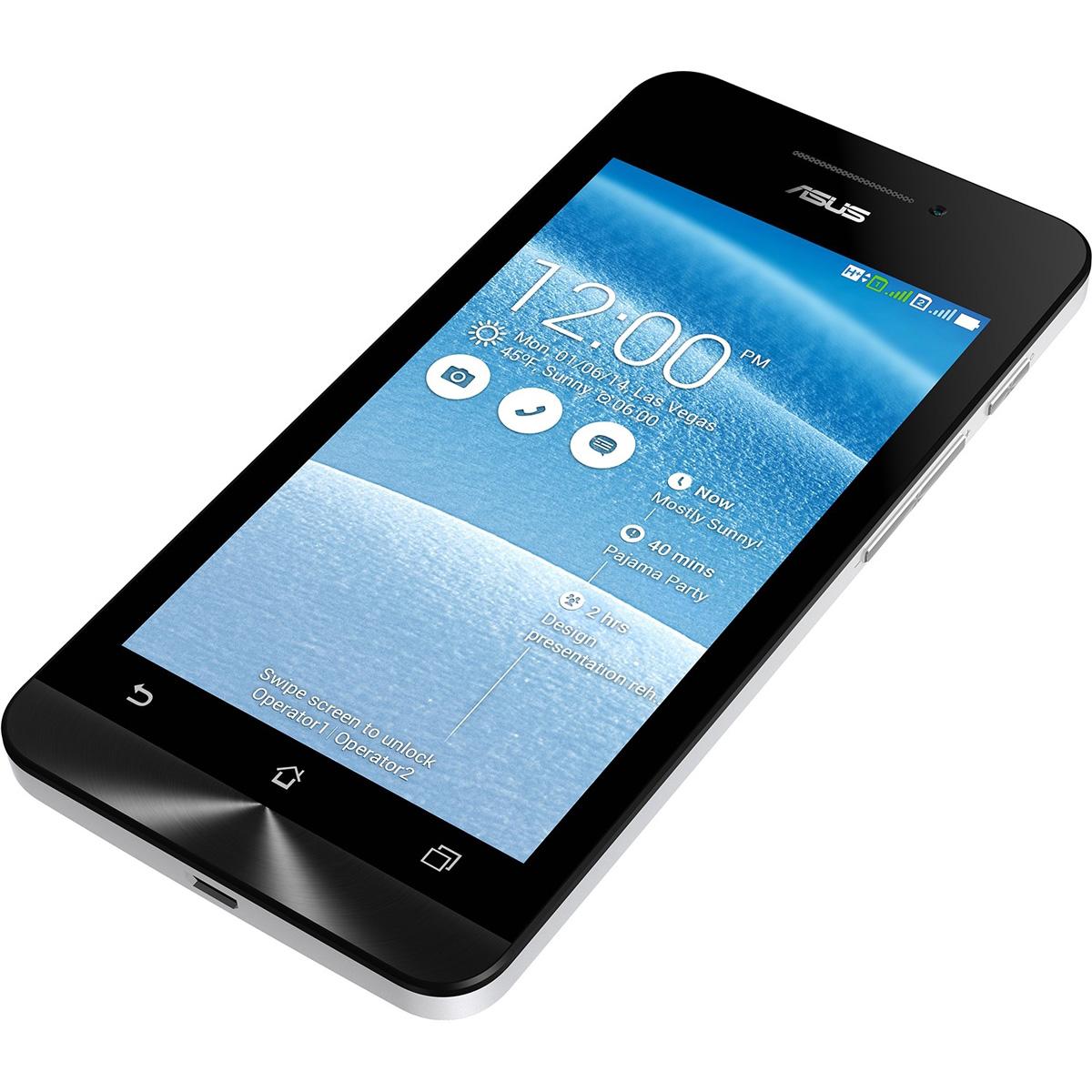 Asus Zenfone 5 A502CG, White (90AZ00K2-M00660)