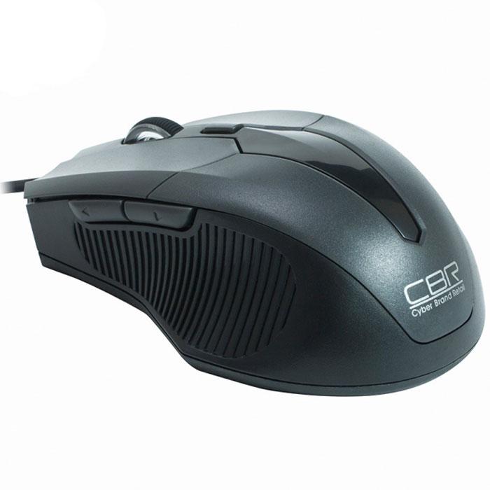 CBR CM 301, Grey мышьCM 301 GreyПроводная оптическая мышь CBR СM 301 не оставит равнодушными поклонников технологичности и четких геометрических форм. Устройство заключено в среднеразмерный корпус, адаптированный для правой руки. Боковые вставки имеют рифление, помогающее уверенно держать мышь. Манипулятор оснащен 5 кнопками, которым можно назначить 20 пользовательских функций при помощи с диска с фирменным программным обеспечением. Среди настроек - уникальное решение, привязывающее на боковые клавиши функции копировать/вставить. Настоящей изюминкой устройства является мощный профессиональный сенсор, который позволяет установить разрешение от 1200 до 2400 dpi. При этом точность позиционирования курсора будет позволять решать сложные задачи в графическом дизайне или участвовать в кибер-спортивных соревнованиях.