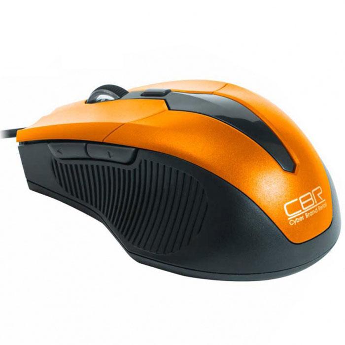 CBR CM 301, Orange мышьCM 301 OrangeПроводная оптическая мышь CBR СM 301 не оставит равнодушными поклонников технологичности и четких геометрических форм. Устройство заключено в среднеразмерный корпус, адаптированный для правой руки. Боковые вставки имеют рифление, помогающее уверенно держать мышь. Манипулятор оснащен 5 кнопками, которым можно назначить 20 пользовательских функций при помощи с диска с фирменным программным обеспечением. Среди настроек – уникальное решение, привязывающее на боковые клавиши функции копировать/вставить. Настоящей изюминкой устройства является мощный профессиональный сенсор, который позволяет установить разрешение от 1200 до 2400 dpi. При этом точность позиционирования курсора будет позволять решать сложные задачи в графическом дизайне или участвовать в кибер-спортивных соревнованиях.