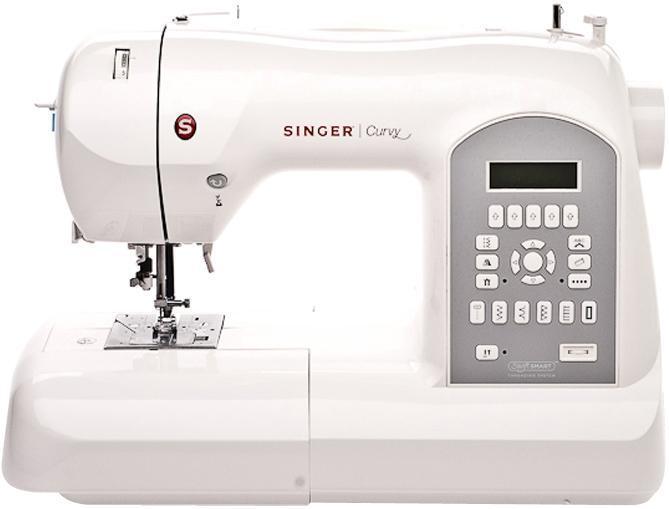 Singer 87708770Швейная машина Singer 8770 относится к высшему классу швейных машин. Работать на такой машине одно удовольствие! Более 200 видов обычных и декоративных швов позволяет изготовить оригинальное изделие. Встроенный компьютер с кнопочным управлением позволяет осуществить автоматическую настройку и регулировку, а также выбрать необходимую строчку.