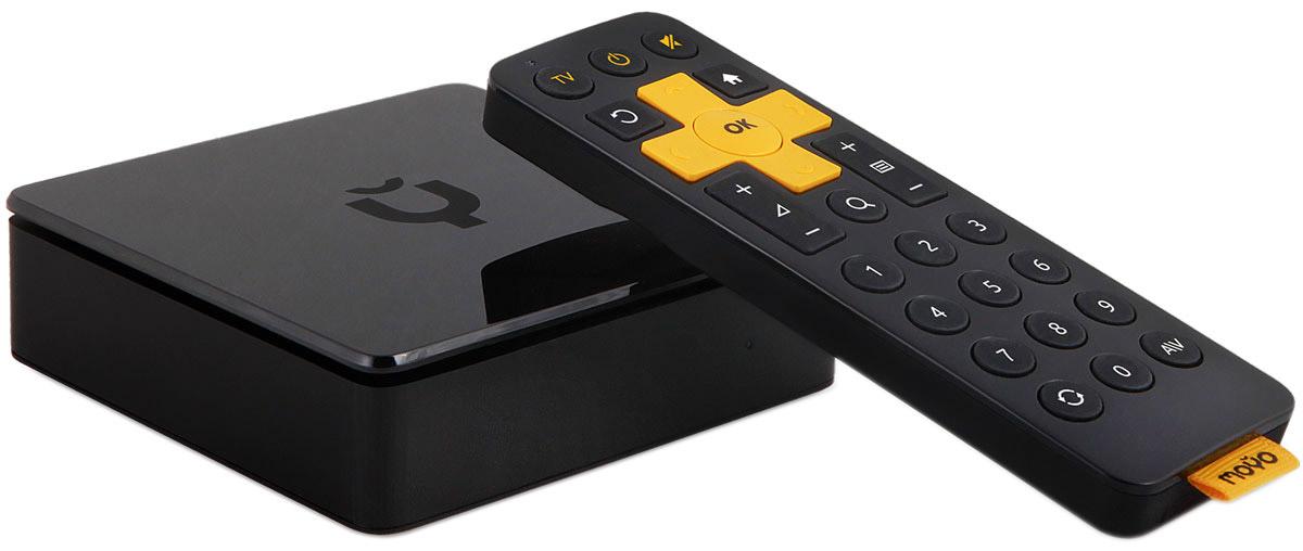 Смарт ТВ плеер Moyo.tvMOYO BoxЗнакомьтесь, Moyo Smart TV box. Представляем вам умный WiFi медиаплеер Moyo.tv. Решение для всех, кто хочет быстро и недорого получить Смарт ТВ на своем телевизоре. Как превратить телевизор в Смарт ТВ за пять минут? Не время расставаться с вашим старым телевизором, если у него есть HDMI разъём. Всего за 4900р вы получите удобное и прогрессивное Смарт ТВ на экране вашего любимого телевизора. А знаете что? Вы сможете подключать его в разных комнатах и даже поехать с ним в гости, если захотите. Смарт плеер Moyo.tv работает в любом городе РФ, где есть интернет от 3 Мбит/c. Больше, чем телевидение. Каждый день на вашем экране сотни фильмов и телепередач, тысячи эпизодов лучших сериалов планеты и миллионы видео. Все телеканалы с интерактивными функциями паузы и перемотки до 7 дней. Пропустили передачу на ТВ? Мотайте назад и смотрите, когда удобно. Хочется кино? Ведущие онлайн-кинотеатры открыты у вас дома 24/7....
