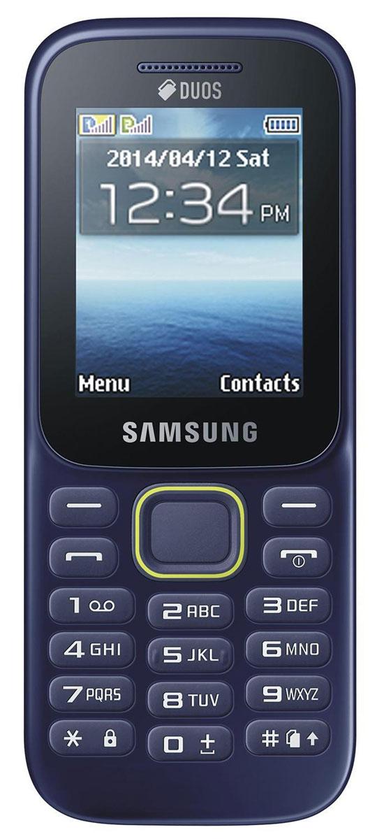 """Samsung B310E, BlueSM-B310EZBASERПоддержка двух SIM-карт Поддержка двух SIM-карт телефоном Samsung B310E дает возможность одновременно использовать два отдельных телефонных номера. Вы по достоинству оцените гибкость и улучшенные возможности коммуникации; кроме того, вы сможете разделить свои рабочие контакты от личных. Тонкий, эргономичный дизайн Привлекающая взгляд зеленая линия на эргономичном корпусе мобильного телефона Samsung B310E визуально разделяет фронтальную часть от тыльной. Корпус толщиной 13,1 мм позволяет вам надежно и комфортно удерживать телефон в руке. Больше экран, удобнее просмотр Яркий 2,0"""" TFT QVGA ЖК экран телефона Samsung B310E позволяет легко читать текстовые сообщения и просматривать мультимедийный контент. 3,5-мм разъем для наушников Слушайте ваши любимые музыкальные треки с помощью встроенного аудио плеера. Удобный 3,5-мм разъем совместим с большинством наушников. Поддержка MicroSD карт Телефон Samsung B310E..."""