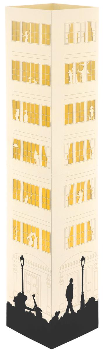 Светильник Аврора Ordinary Life, настольный. AL-008AL-008Настольный светильник Аврора Ordinary Life позволяет создать неповторимую игру света и тени. Изделие поставляется в разобранном виде. Для сборки не требуется инструментов и технических навыков. Светильник состоит из основания, картонного плафона с бумажной вставкой и сетевого шнура с патроном, оснащенного переключателем. Предназначен для использования в закрытых помещениях. Рекомендуется использовать светодиодную лампочку мощностью не более 6,5 Вт и энергосберегающую лампочку мощностью не более 11 Вт. Для чистки использовать только сухие материалы или пылесос. Размер плафона: 11 см х 11 см х 64 см. Технические параметры: - Класс защиты от поражения электрическим током: 2. - Степень защиты: IP20. Уважаемые клиенты! Обращаем ваше внимание, что лампочка в комплект не входит.