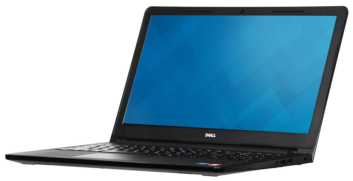 Dell Inspiron 3552 (5864), Black3552-5864Тонкий ноутбук оснащен новейшими процессорами Intel. Ноутбук Inspiron 3552 толщиной всего 22 мм легко помещается в сумке для ноутбука или дорожной сумке и не занимает много места. Нет розетки — нет проблем: невозможно все время находиться рядом с розеткой, но благодаря 6-часовой продолжительности работы без подзарядки вам и не придется. Расширьте свой кругозор: смотреть любимые фильмы и передачи на этом широком 15-дюймовом экране — одно удовольствие. Громко и четко: вы будете поражены чистотой звука, которую обеспечивает отмеченная наградами технология GRAMMY Waves MaxxAudio. Общайтесь с друзьями и смотрите любимые фильмы, наслаждаясь невероятным качеством звука. Надежные беспроводные подключения: общайтесь с удовольствием благодаря новейшим возможностям беспроводной связи, которые позволяют устанавливать быстрые и надежные соединения с потрясающим диапазоном. Видеть — значит верить: улыбнитесь вашим друзьям и...
