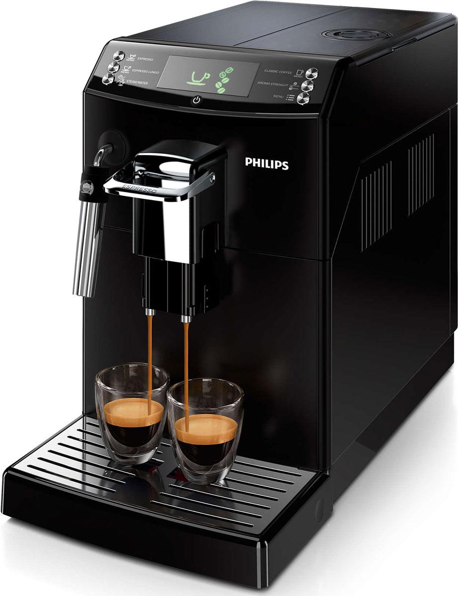Philips HD8842/09, Black кофемашинаHD8842/09Как начинается ваше утро — с классического кофе или крепкого эспрессо? С помощью функции CoffeeSwitch кофемашины Philips HD8842/09 вы сможете приготовить из свежих зерен эспрессо или классический кофе, просто повернув переключатель. Превосходный вкус заварного кофе, приготовленного с помощью автоматической эспрессо-кофемашины! Наслаждайтесь классическим кофе по утрам или крепким эспрессо, просто изменив положение переключателя. Уникальная функция CoffeeSwitch позволяет выбирать идеальный кофейный напиток, приготовленный из свежемолотых зерен, для любого настроения или времени суток. Классический капучинатор, который бариста называют панарелло, используется для приготовления с помощью пара мягкой молочной пены для вашего капучино. Почувствуйте себя бариста — готовьте вкусные молочные напитки традиционным способом! Забудьте о жженом привкусе кофе благодаря 100%-но керамическим жерновам, которые не перегревают зерна. Керамика гарантирует долгий срок службы и бесшумную...