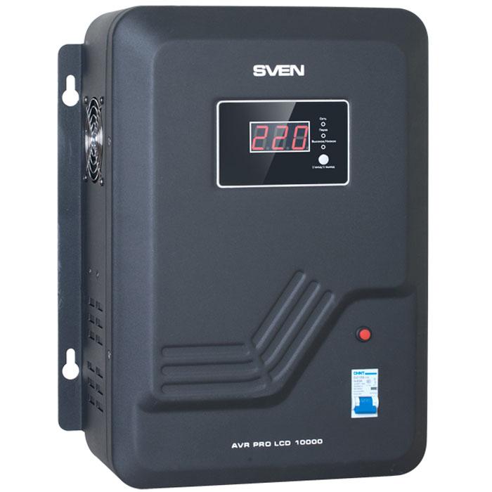 Sven AVR Pro LCD 10000 стабилизатор напряжения