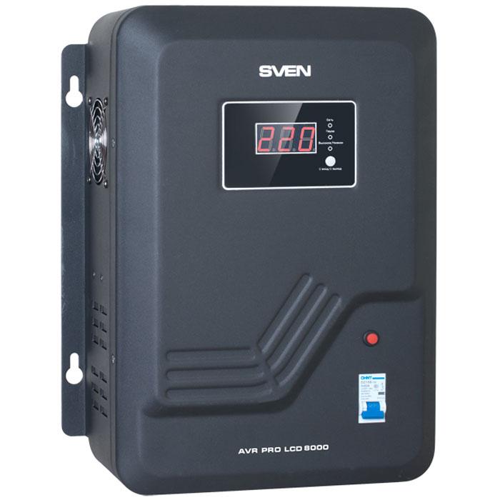Sven AVR Pro LCD 8000 стабилизатор напряжения