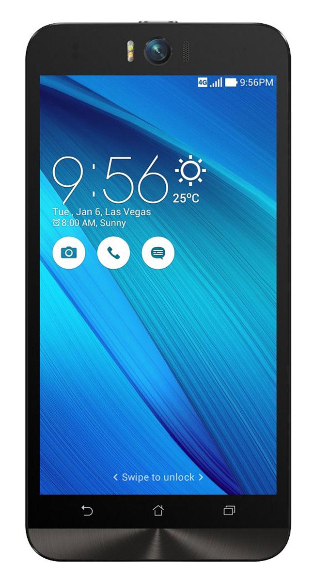 ASUS ZenFone Selfie ZD551KL (32GB), Light Blue (90AZ00U4-M01320)90AZ00U4-M01320Asus Zenfone Selfie ZD551KL - инновационное сочетание современных технологий, модных трендов и безупречного качества изготовления. В этом смартфоне есть все, чтобы увидеть себя в самом лучшем свете - две отличные камеры с множеством специальных режимов съемки, удобный интерфейс ZenUI и высококачественный экран. Отличительной особенностью смартфона ZenFone Selfie является высококачественная фронтальная камера с технологией PixelMaster, разрешением 13 мегапикселей, большой диафрагмой (F/2,2) и 88-градусным объективом, причем в режиме панорамных селфи она дает возможность снимать фотографии, охватывающие угол до 140 градусов. И фронтальная, и тыловая камеры смартфона оснащены двухцветной светодиодной вспышкой. В обоих применены современные компоненты от Largan и Toshiba, а в тыловой также реализована высокоскоростная система лазерной автофокусировки. Благодаря поддержке системы жестового управления ZenMotion, для перевода смартфона ZenFone Selfie в ...