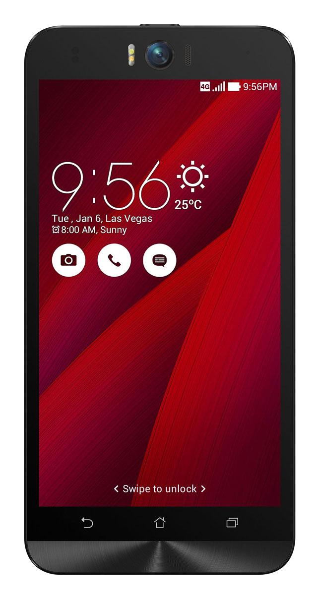 ASUS ZenFone Selfie ZD551KL (32GB), Red (90AZ00U8-M01330)90AZ00U8-M01330Asus Zenfone Selfie ZD551KL - инновационное сочетание современных технологий, модных трендов и безупречного качества изготовления. В этом смартфоне есть все, чтобы увидеть себя в самом лучшем свете - две отличные камеры с множеством специальных режимов съемки, удобный интерфейс ZenUI и высококачественный экран. Отличительной особенностью смартфона ZenFone Selfie является высококачественная фронтальная камера с технологией PixelMaster, разрешением 13 мегапикселей, большой диафрагмой (F/2,2) и 88-градусным объективом, причем в режиме панорамных селфи она дает возможность снимать фотографии, охватывающие угол до 140 градусов. И фронтальная, и тыловая камеры смартфона оснащены двухцветной светодиодной вспышкой. В обоих применены современные компоненты от Largan и Toshiba, а в тыловой также реализована высокоскоростная система лазерной автофокусировки. Благодаря поддержке системы жестового управления ZenMotion, для перевода смартфона ZenFone Selfie в ...