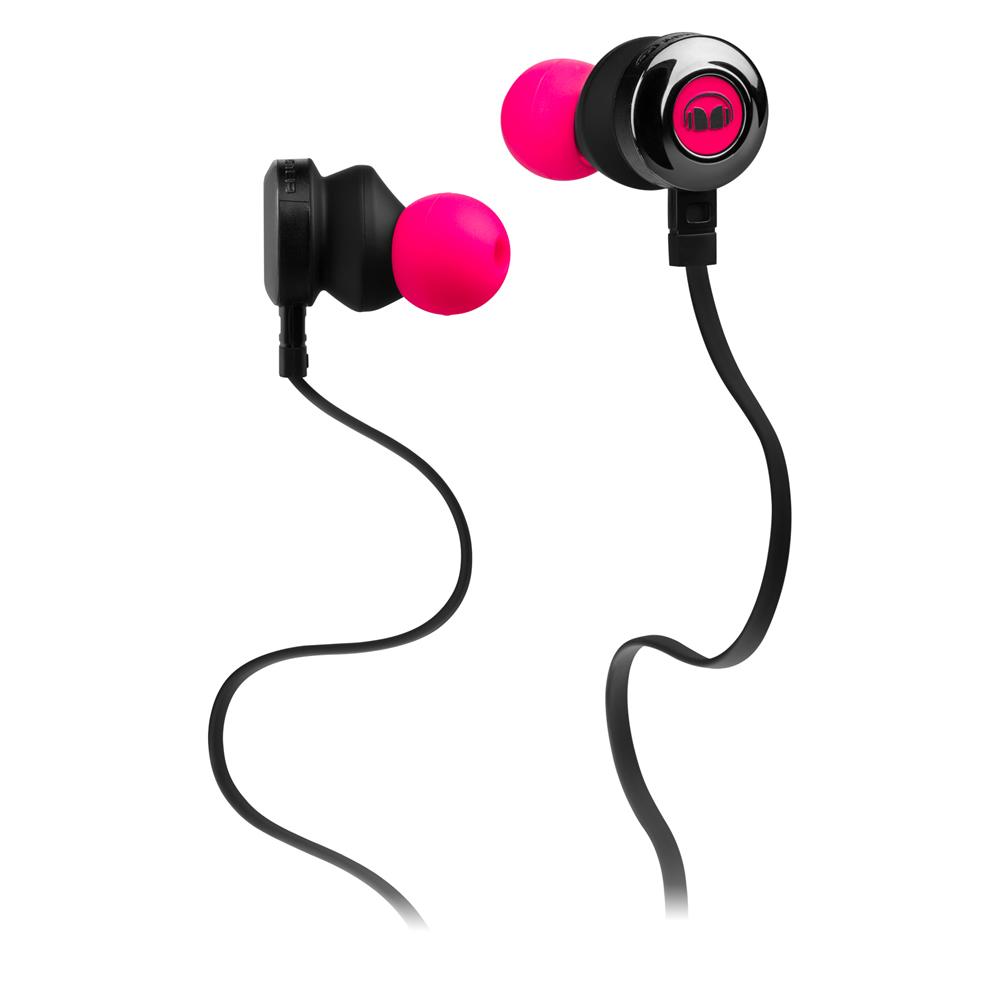 Monster Clarity HD In-Ear, Neon Pink гарнитура128668Отличный дизайн Разница между тщательно разработанными наушниками и наушниками массового производства, идущими в комплекте со смартфоном или другим устройством, в том, что комплектные наушники выходят из строя через несколько месяцев. Выбросьте все стандартные аксессуары и откройте для себя всемирно известное качество наушников Monster. Высокий уровень комфорта Лучшие в своем классе наушники Clarity HD созданы в первую очередь для вашего удобства. Мы провели несколько тестирований, чтобы убедиться, что наушники подходят всем Лучший звук Вставные наушники Clarity HD обеспечивают превосходную шумоизоляцию и высококачественный звук Управление музыкой и вызовами Отвечайте на вызовы на Вашем смартфоне или переключайте музыкальные треки в одно касание с помощью встроенного пульта управления музыкой и вызовами ControlTalk. Микрофон высокой четкости без искажений передаст Ваш голос во время...
