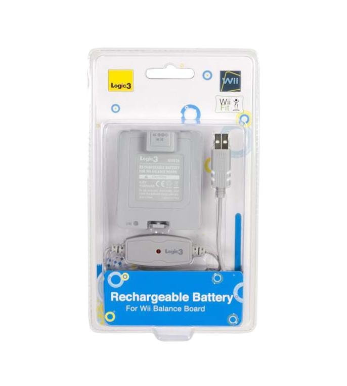 Аккумулятор для Wii Balance Board 1000 мАч + зарядный кабель USBNW836