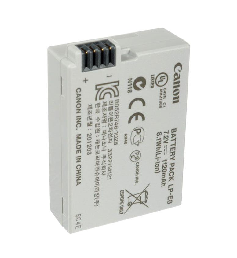 Canon LP-E8 аккумулятор для EOS 550D/ 600D