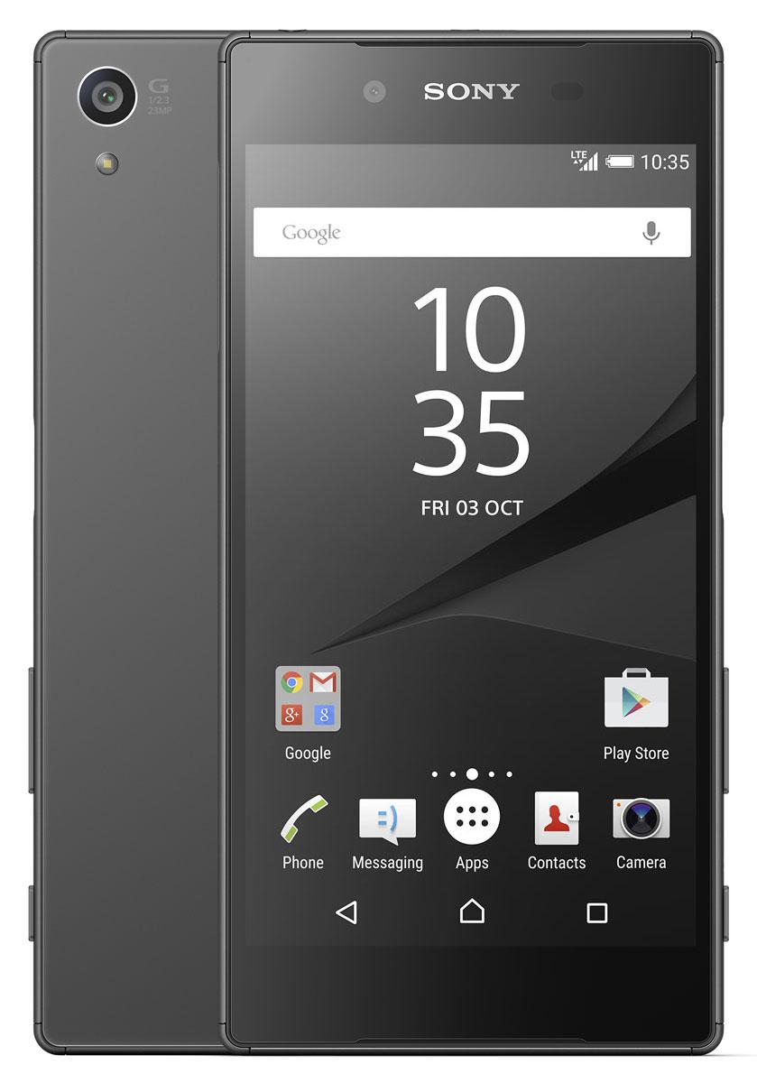 Sony Xperia Z5, Graphite BlackE6653BLKС Sony Xperia Z5 вы никогда не пропустите удачный кадр. Этот смартфон с замечательной камерой, оснащенный гибридной автофокусировкой, поразит вас быстротой и четкостью съемки. А благодаря матрице на 23 МП и пятикратному масштабированию вы сможете запечатлеть даже самые мимолетные мгновения - четко и с первой же попытки. Данная модель поможет сохранить неповторимую магию ночи на снимках. В нём используется матрица Sony нового поколения, которая позволит запечатлеть темные сцены в мельчайших подробностях без шума или размытия. Смартфон приятно держать в руках. Это металлическая рамка с гравировкой, плавные, простые формы и задняя панель из матированного стекла, которая притягивает взгляды. Если вы попали под дождь, случайно уронили смартфон в раковину или опрокинули на него кофе, не отчаивайтесь - корпус Xperia Z5 защищен от проникновения воды и имеет защиту класса IP68. Такие неприятности ему нипочем. Смартфон, который знает...